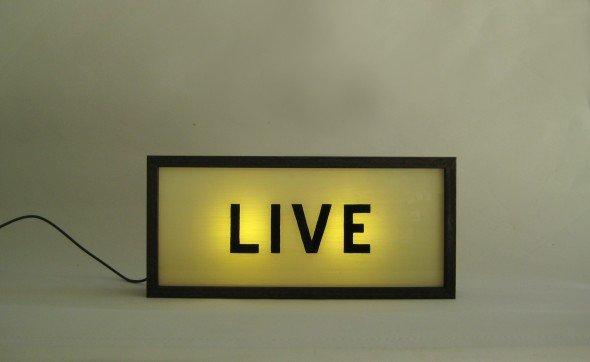 Custom Make Hand Painted Signs Light Box LIVE !
