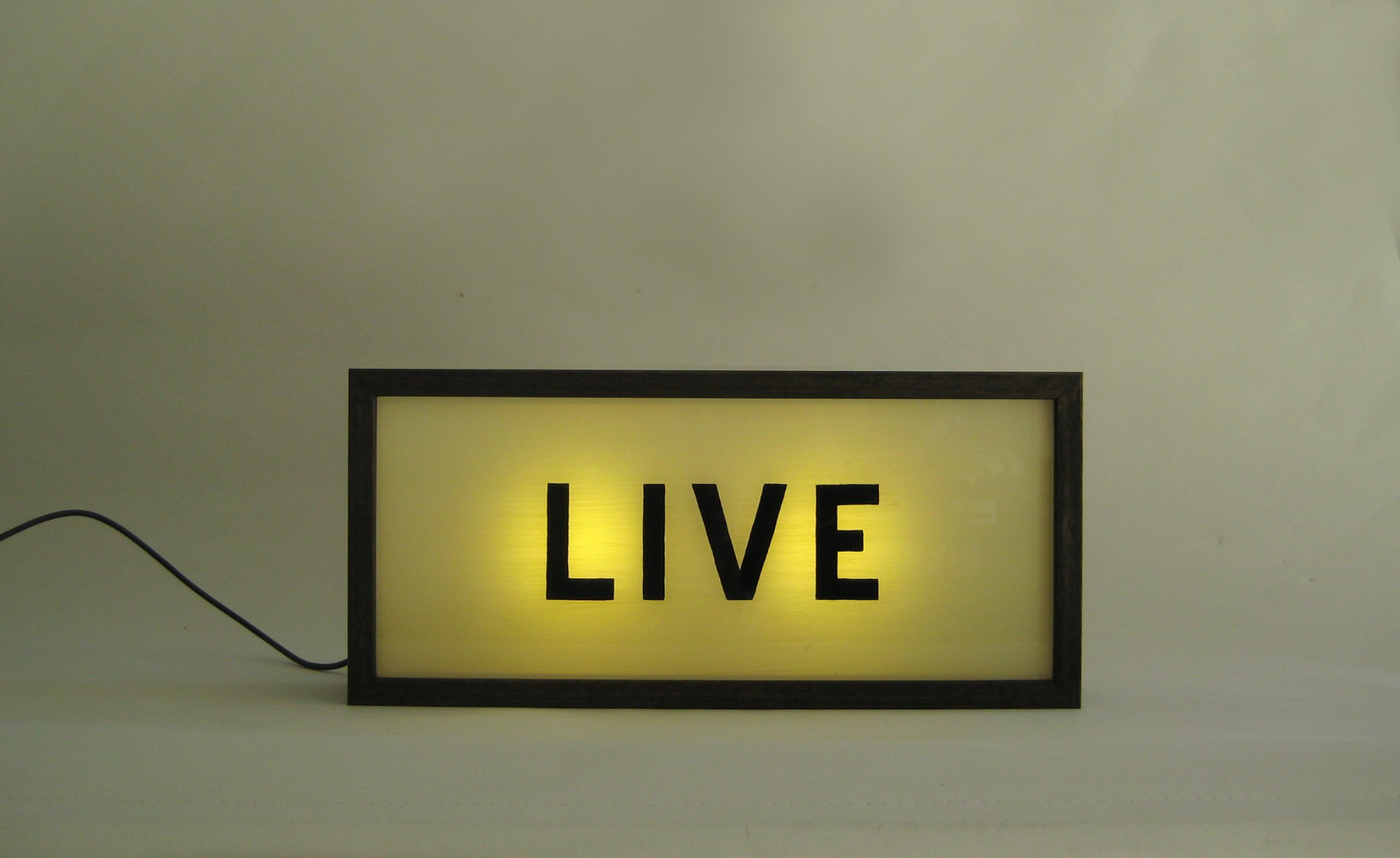 Custom Make Hand Painted Signs Light Box LIVE !