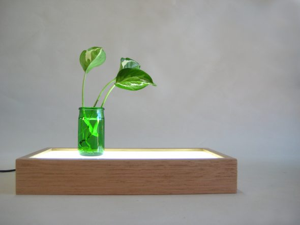 Custom Order Wooden Lighted Pedestal