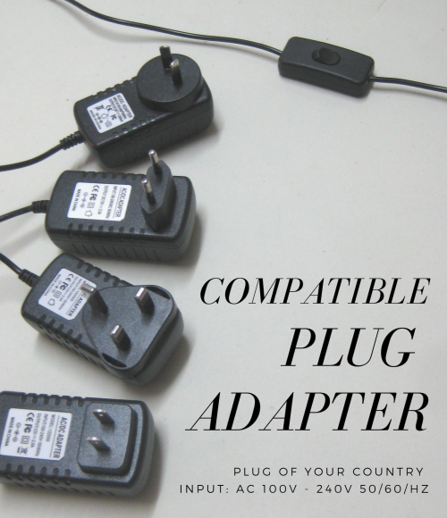 we provide compatible plug of your country