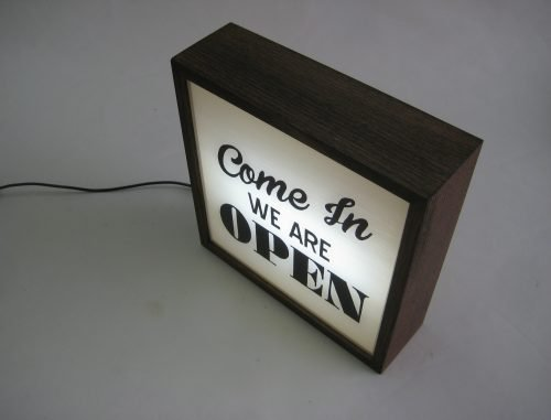 come-in-we-are-open-vintage-lightbox-handpainted-sign