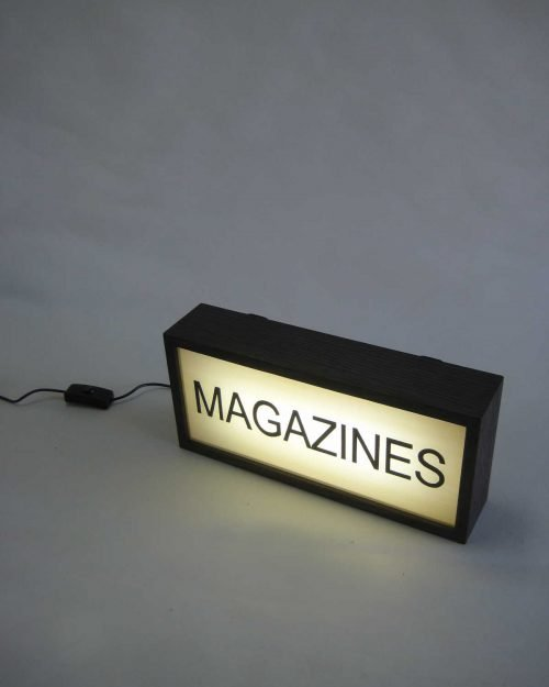 MAGAZINE Sign