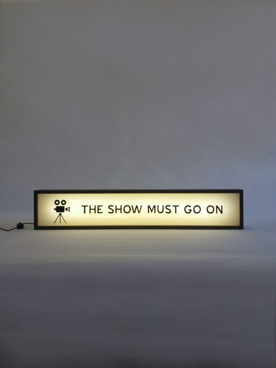 Custom The Show Must Go On Lightbox