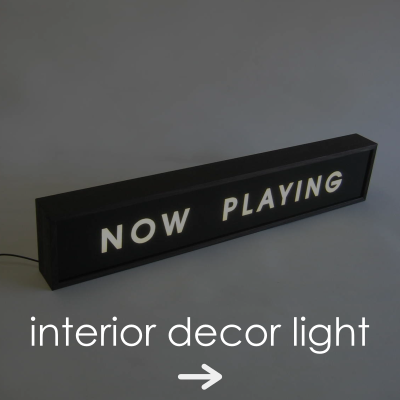 interior decor light