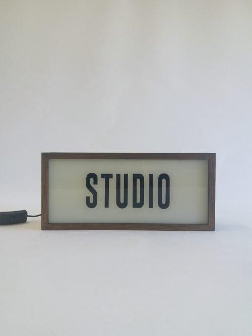 STUDIO Lightbox Sign
