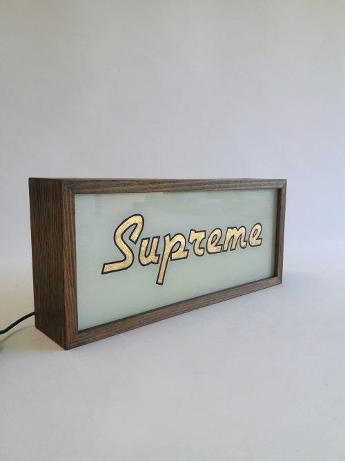 Supreme Gold Leaf Sign