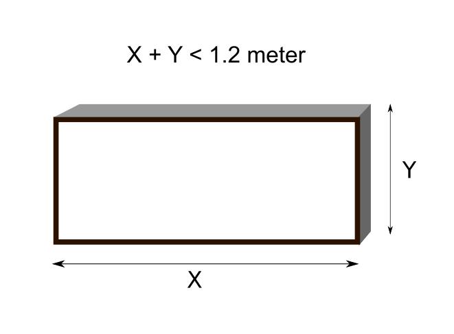 custom lightbox dimension limit